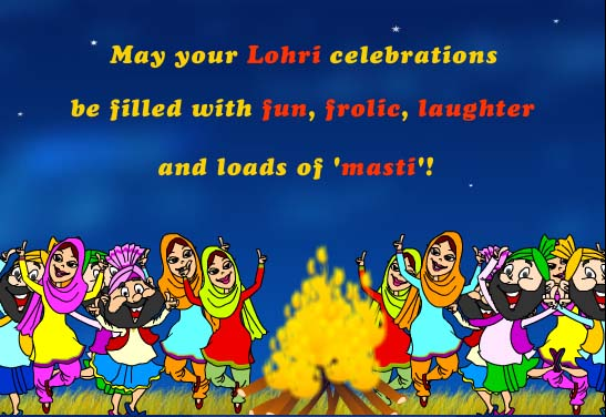 Attractive Lohri Wishes