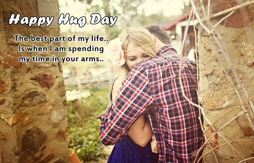 Awesome Hug Day Image