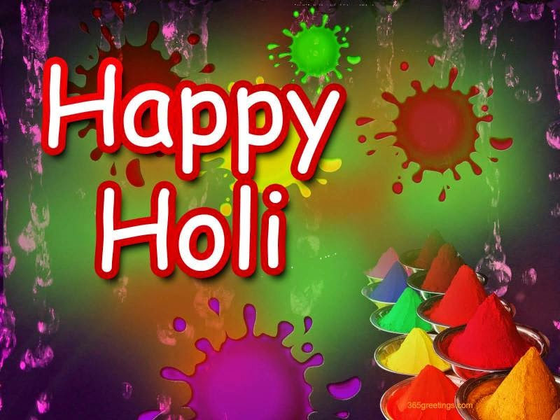 Beautiful Happy Holi Wish