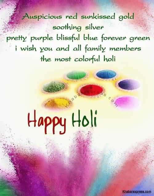 Beautiful Happy Holi