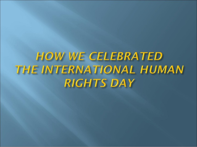 Beautiful Human Rights Day Wishes