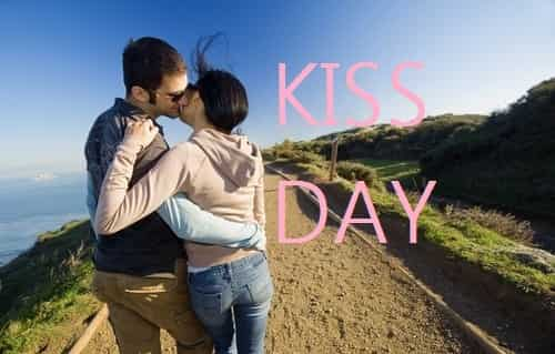 Beautiful Kiss Day Picture