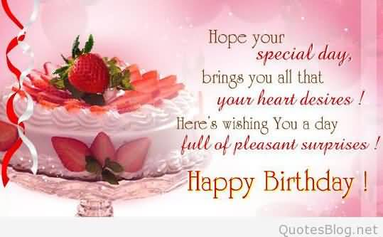 Brilliant Birthday Wishes And greetings