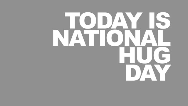 Brilliant Hug Day Wish