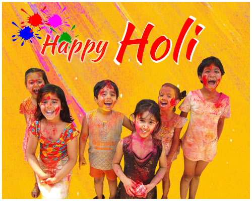 Charming Happy Holi