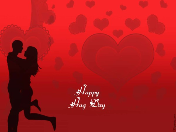 Cool Hug Day Wish