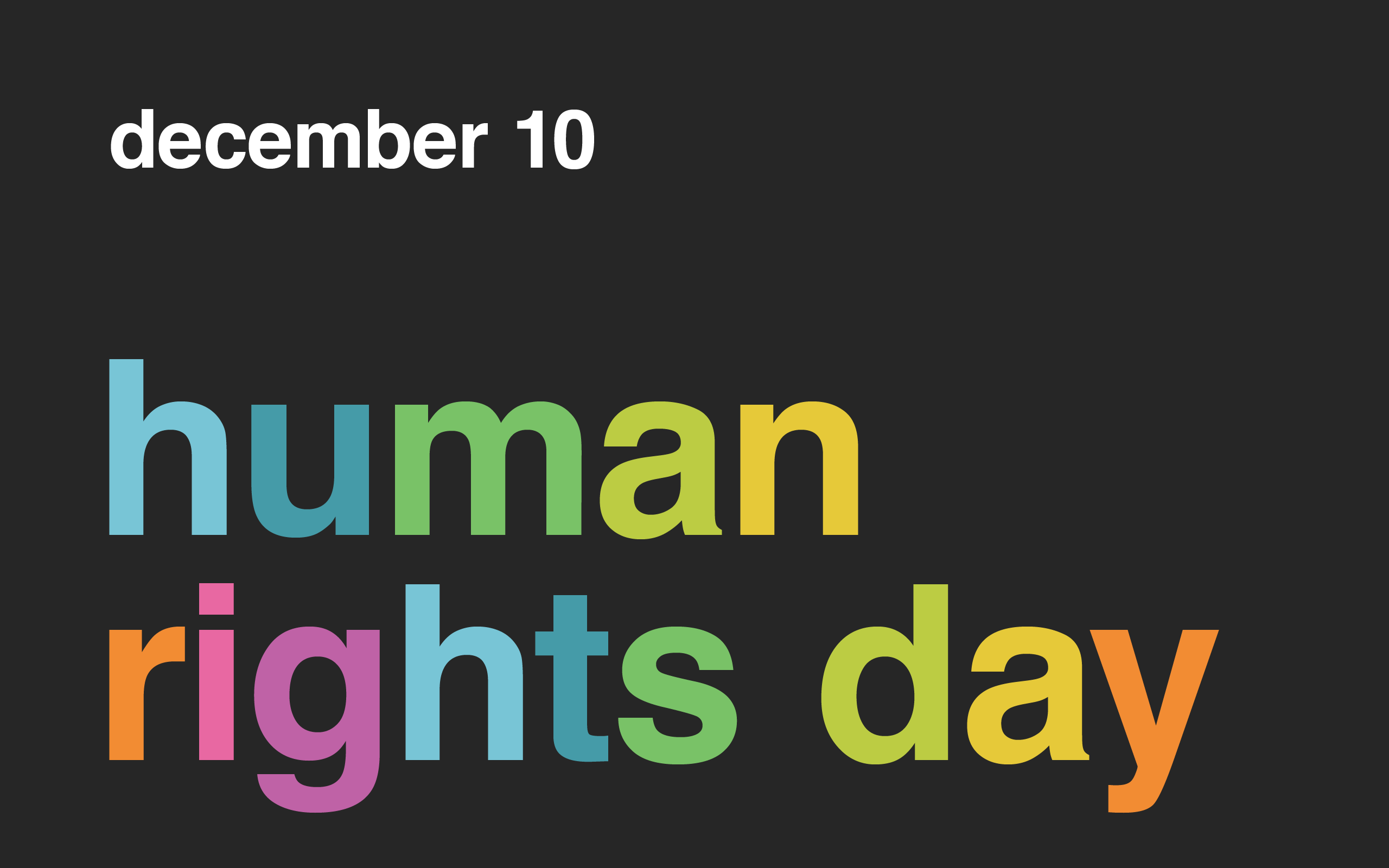 Cool Human Rights Day