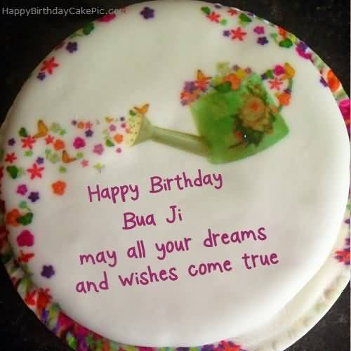 Cute Birthday Cake Wishes