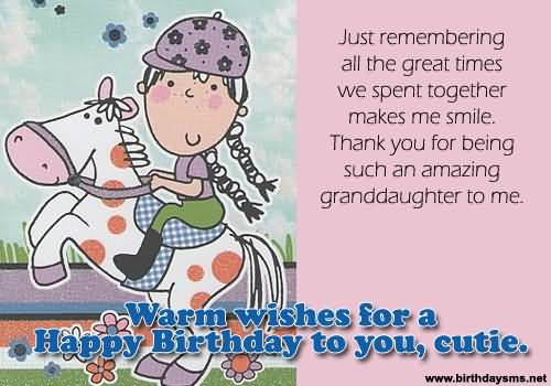 Cute E-Card Birthday Wishes