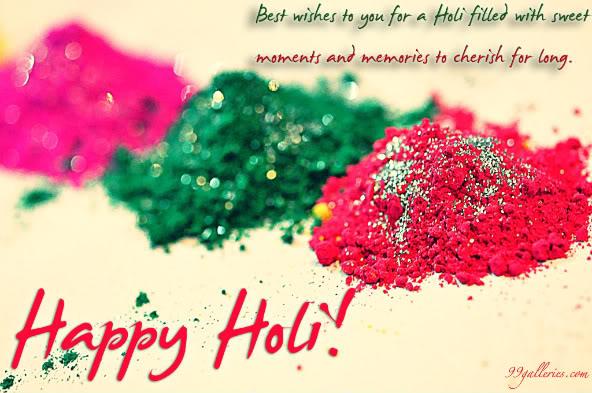 Cute Happy Holi