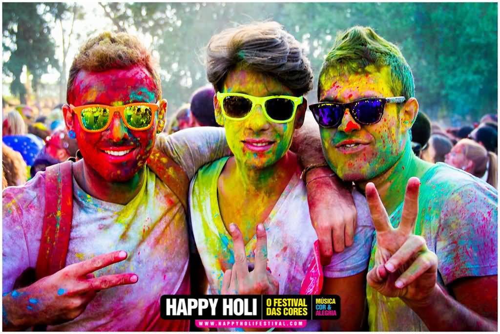 Elegant Happy Holi Wishes