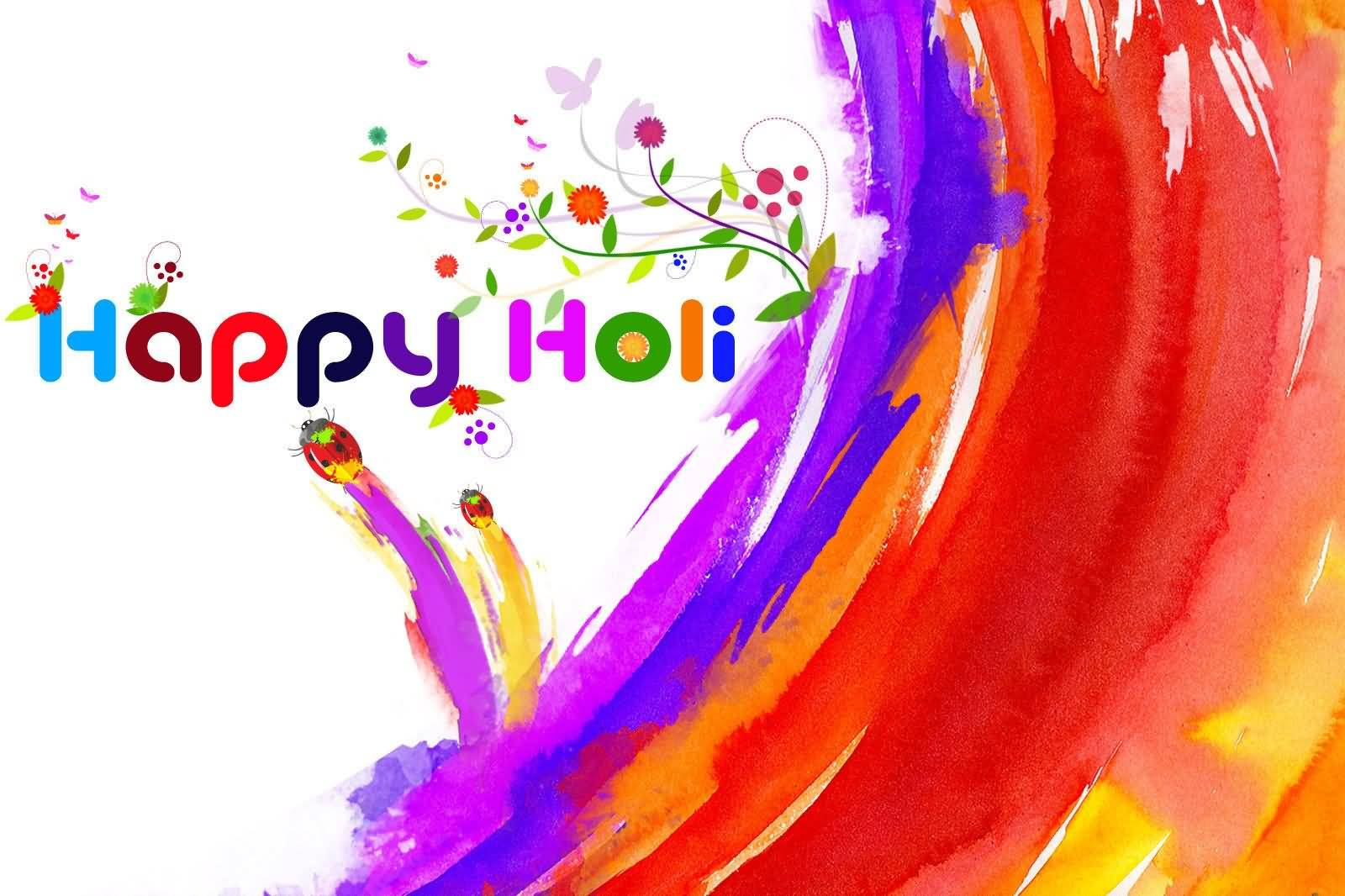 Elegant Holi Wish