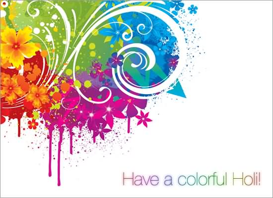 Elegant Holi Wishes