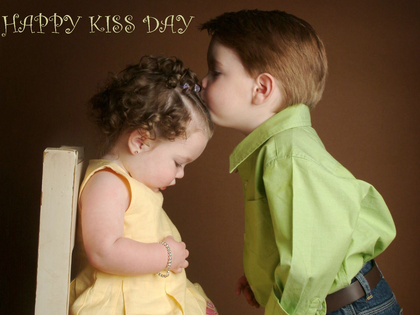 Elegant Kiss Day Wishes