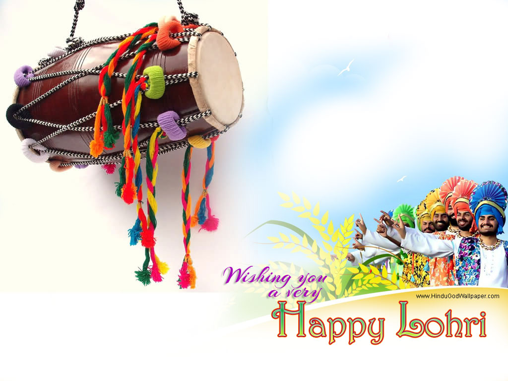 Elegant Lohri Wishes