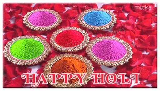 Excellent Happy Holi Wish