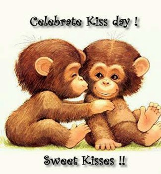 Excellent Kiss Day Wish