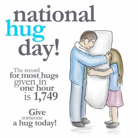 Fabulous Hug Day Wish