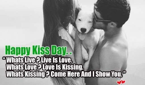 Fabulous Kiss Day Wish