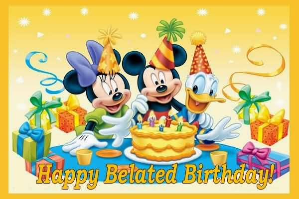 Famous Cartoons E-Card Happy Birthday Wishes