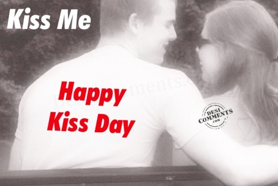 Fantastic Kiss Day Wish
