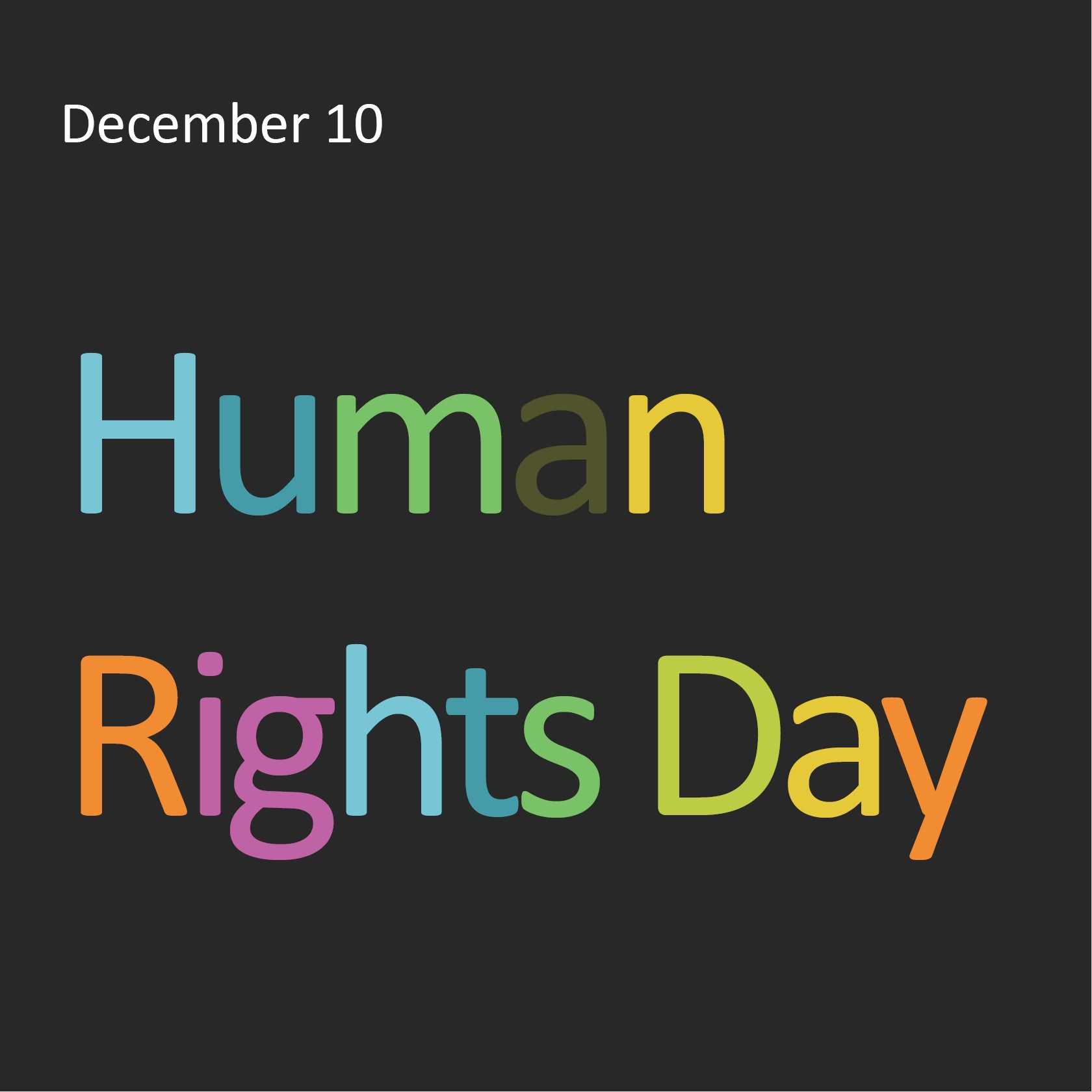 Good Human Rights Day