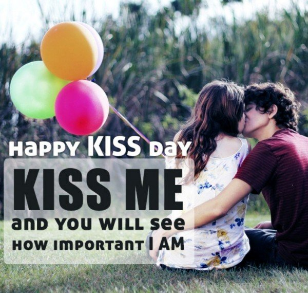 Good Kiss Day Images