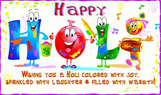 Great Happy Holi Wish