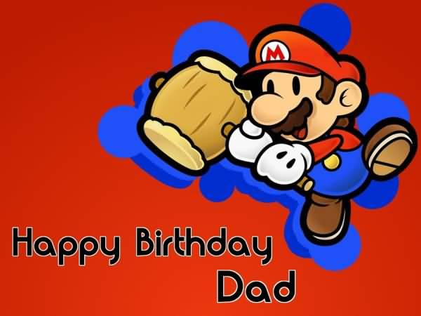 Great Mario E-Card Birthday Wishes