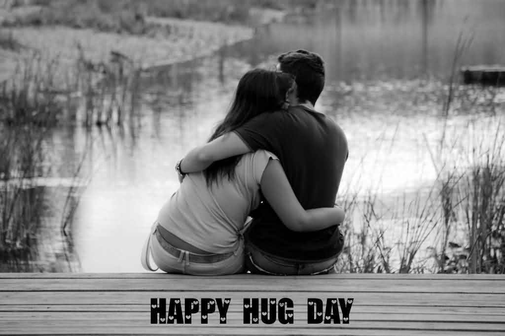 Impressive Hug Day Wish