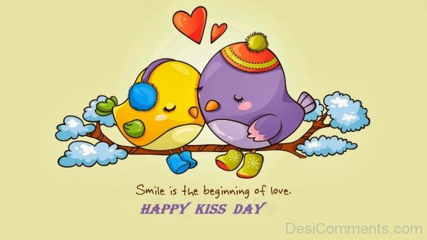 Impressive Kiss Day Wish