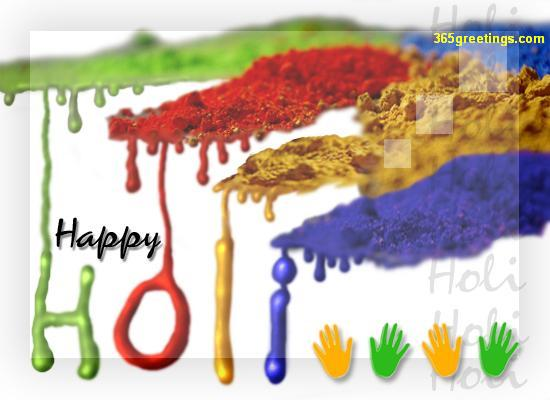 Incredible Happy Holi Wish