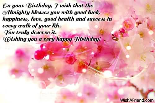 Latest Birthday Wishes And Greetings