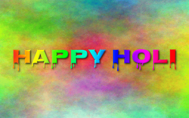 Latest Happy Holi Wishes