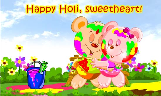 Marvelous Happy Holi Wish