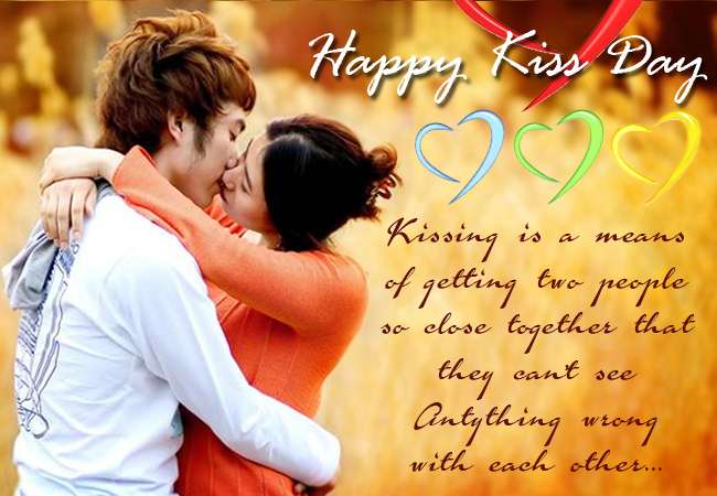 Marvelous Kiss Day Wish