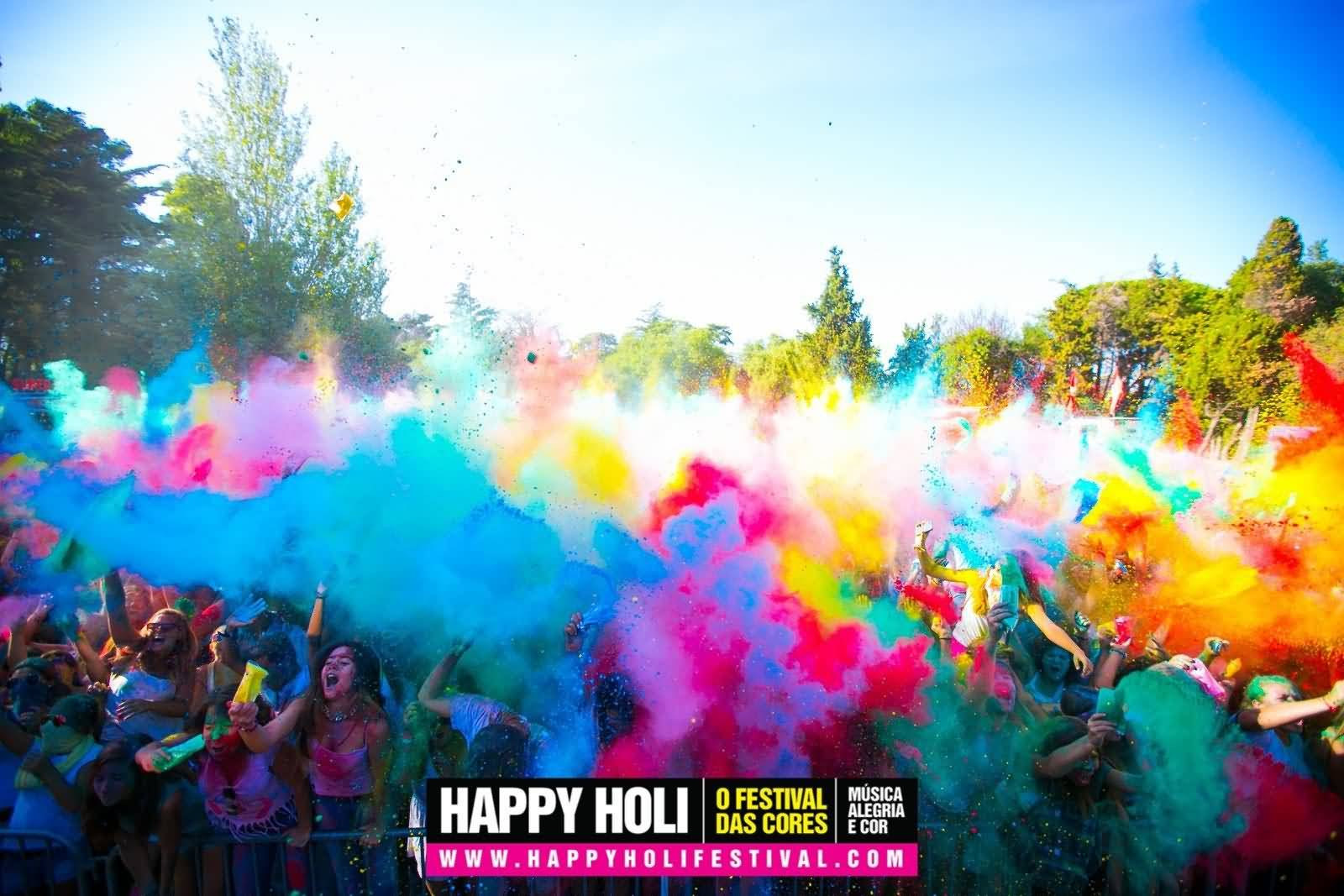 Mind Blowing Happy Holi Pics