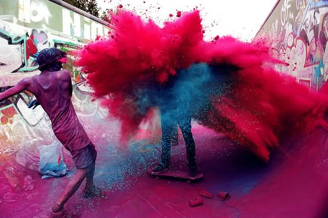 Mind Blowing Happy Holi