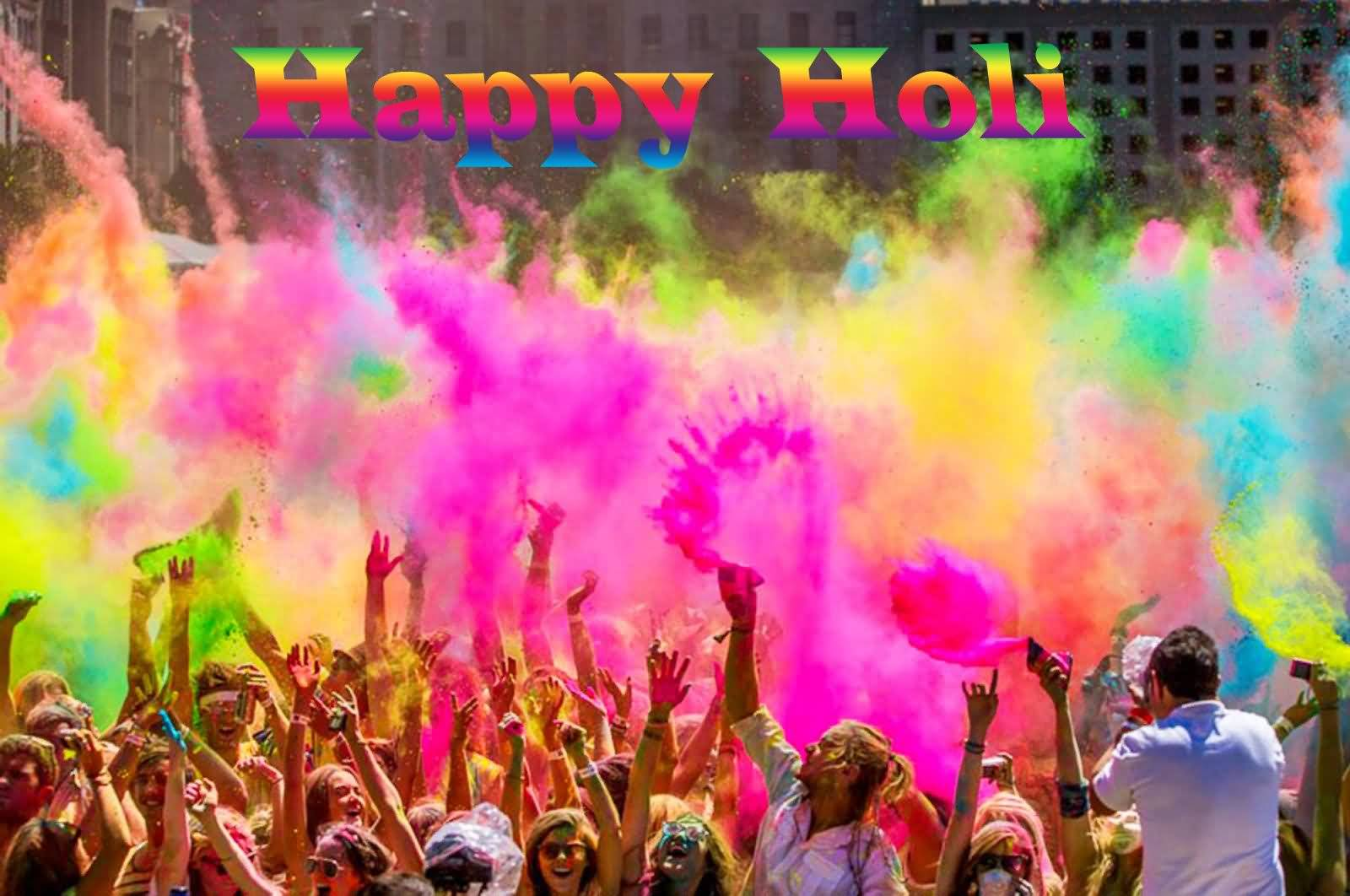 Mind Blowing Holi Wish
