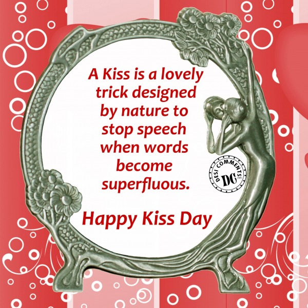 Mind Blowing Kiss Day Wishes