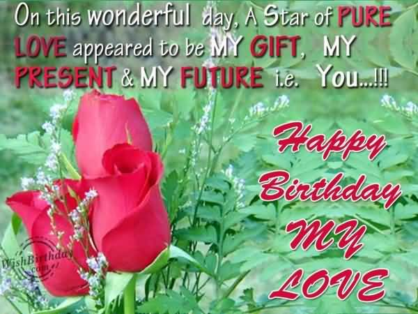 Nice Flower Happy Birthday Wishes & Greetings