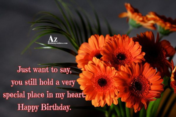 Nice Flower Happy Birthday Wishes