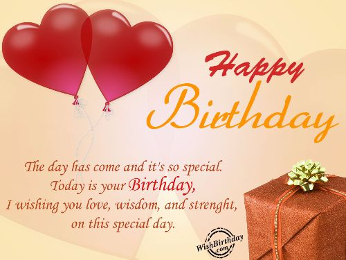 Nice Happy Birthday Quotes And Greetings With Message