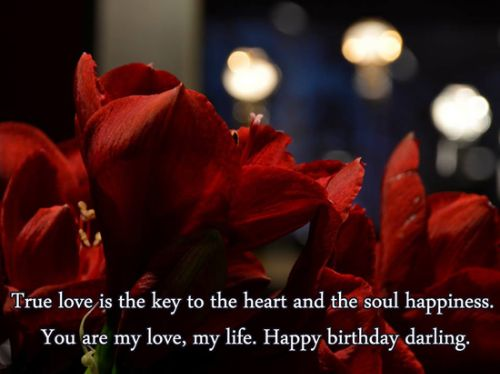 Nice Happy Birthday Quotes For Darling