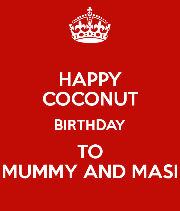 Nice Happy Coconut Birthday Wishes