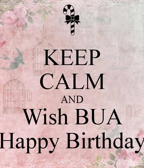 Nice Keep Calm E-Card Happy Birthday Wishes