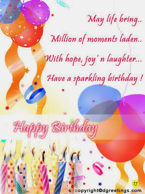 Nice Message Happy Birthday Wishes And Greetings