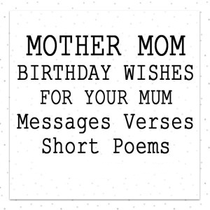Nice Poem Birthday Greetings
