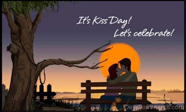 Outstanding Kiss Day Wish