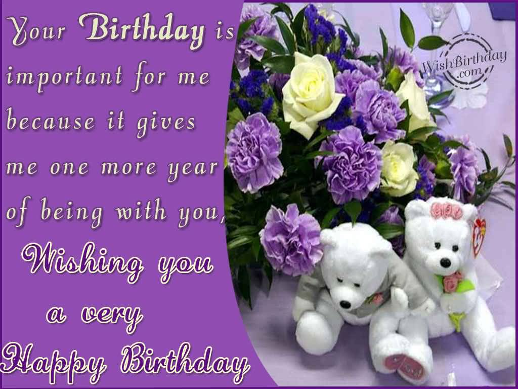 Popular Birthday Wishes And Greetings With Quote